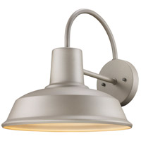Trans Globe Lighting 50330-SL Tacoma 1 Light 13 inch Silver Outdoor Wall Sconce