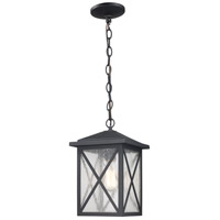 Trans Globe Lighting 50343-BK Leonis 1 Light 15 inch Black Outdoor Wall Lantern