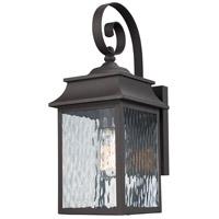 Trans Globe Lighting 50350-WB Heirloom 2 Light 17 inch Weathered Bronze Outdoor Wall Lantern