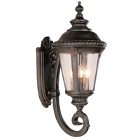 Trans Globe Lighting 5042-BC Commons 4 Light 29 inch Black Copper Outdoor Wall Lantern photo thumbnail