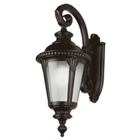 Commons 3 Light 25 inch Black Outdoor Wall Lantern