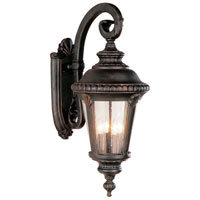 Trans Globe Lighting Estate 4 Light Outdoor Wall Lantern in Black Copper 5045-BC