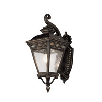 Braided 1 Light 18 inch Burnished Bronze Outdoor Wall Lantern