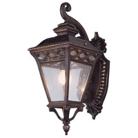 Trans Globe Lighting Villa 2 Light Outdoor Wall Lantern in Burnished Bronze 50511-BRB