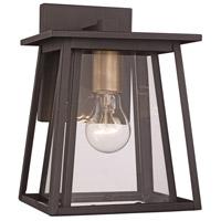 Trans Globe Lighting 50760-BK Geode 1 Light 17 inch Black Outdoor Wall Lantern