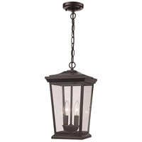 Trans Globe Lighting 50774-BK Turlock 2 Light 10 inch Black Outdoor Hanging Lantern