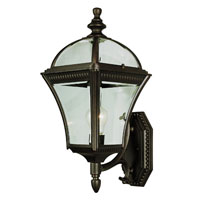 Trans Globe Lighting Classic 1 Light Outdoor Wall Lantern in Rust 5083-RT
