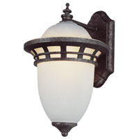 Bristol 1 Light 12 inch Bronze Outdoor Wall Lantern