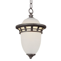 Trans Globe Bristol 1 Light Outdoor Hanging Lantern in Antique Pewter 5113-AP