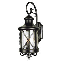 Trans Globe Lighting Coastal 2 Light Outdoor Wall Lantern in Rubbed Oil Bronze 5120-ROB