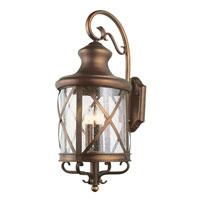 Trans Globe Lighting Coastal 4 Light Outdoor Wall Lantern in Antique Copper 5122-AC