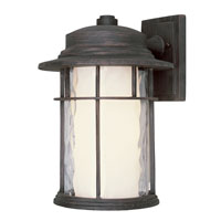 Trans Globe Lighting Craftsman 1 Light Outdoor Wall Lantern in Rust 5291-RT