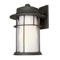Trans Globe Lighting Craftsman 1 Light Outdoor Wall Lantern in Rust 5292-RT