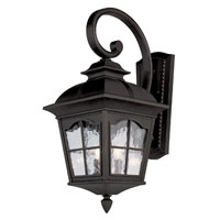 Trans Globe Chesapeake 3 Light Outdoor Wall Lantern in Black 5420-BK