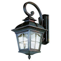 Trans Globe Lighting New American 4 Light Outdoor Wall Lantern in Antique Rust 5424-AR