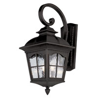 Trans Globe Lighting New American 4 Light Outdoor Wall Lantern in Black 5424-BK