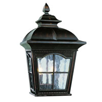Trans Globe Lighting New American 2 Light Outdoor Pocket Lantern in Antique Rust 5429-1-AR