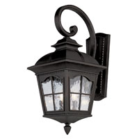 Trans Globe Lighting New American 2 Light Outdoor Wall Lantern in Black 5429-BK