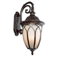 Trans Globe Lighting Estate 3 Light Outdoor Wall Lantern in Bronze 5716-BR