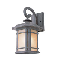 Signature 1 Light 16 inch Rust Outdoor Wall Lantern