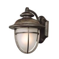 Trans Globe Lighting Coastal 1 Light Outdoor Wall Lantern in Dark Rust 5851-DR photo thumbnail
