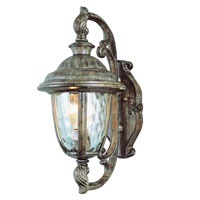 Trans Globe Lighting Villa 1 Light Outdoor Wall Lantern in Burnished Rust 5900-BRT