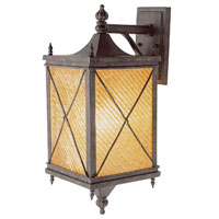 Trans Globe Lighting Estate 1 Light Outdoor Wall Lantern in Antique Rust 5921-AR photo thumbnail
