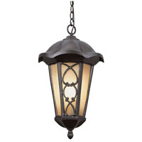Trans Globe Lighting Villa 2 Light Outdoor Hanging Lantern in Bronze 5946-BRZ