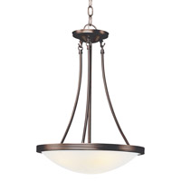 Trans Globe Moon Glow 3 Light Pendant in Rubbed Oil Bronze 6211-ROB