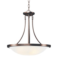 Moon Glow 3 Light 19 inch Rubbed Oil Bronze Pendant Ceiling Light
