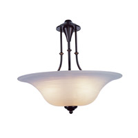 Payson 3 Light 20 inch Weathered Bronze Pendant Ceiling Light