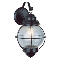 Trans Globe Lighting Coastal 1 Light Outdoor Wall Lantern in Black 69900-BK