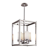 Trans Globe Urban Swag 4 Light Foyer Pendant in Polished Chrome 70344-PC