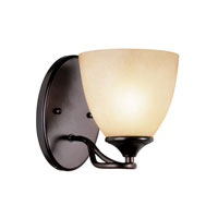 Trans Globe Pullman 1 Light Wall Sconce in Rubbed Oil Bronze 70371-ROB