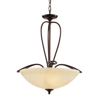 Trans Globe Lighting Pullman 3 Light Pendant in Rubbed Oil Bronze 70378-ROB