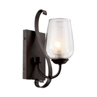 Trans Globe Eclectic Tempo 1 Light Wall Sconce in Rubbed Oil Bronze 70381-ROB