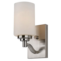 Signature 1 Light 5 inch Brushed Nickel Wall Sconce Wall Light