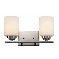 Trans Globe Mod Space 2 Light Bath Bar in Brushed Nickel 70522-BN