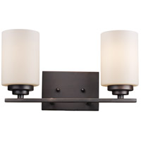 Trans Globe Lighting 70522-ROB Mod Pod 2 Light 14 inch Rubbed Oil Bronze Vanity Bar Wall Light