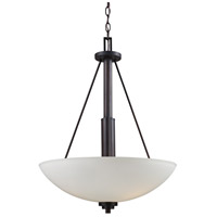 Trans Globe Lighting 70528-ROB Signature 3 Light 16 inch Rubbed Oil Bronze Pendant Ceiling Light