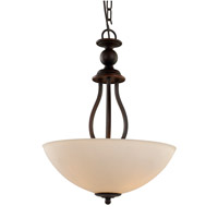 Trans Globe Clarissa 3 Light Pendant in Rubbed Oil Bronze 70538-ROB