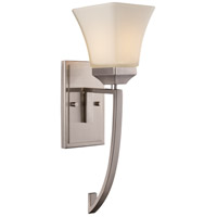 Trans Globe Lighting 70641-BN Cameo 1 Light 6 inch Brushed Nickel Wall Sconce Wall Light