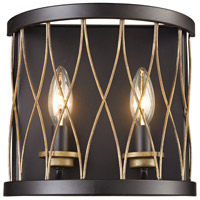 Trans Globe Lighting 70692-ROB Signature 2 Light 10 inch Rubbed Oil Bronze Wall Sconce Wall Light