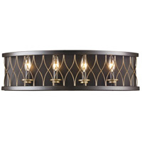 Trans Globe Lighting 70694-ROB Tahoe 4 Light 26 inch Rubbed Oil Bronze Wall Sconce Wall Light