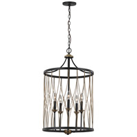 Trans Globe Lighting 70697-ROB Tahoe 5 Light 18 inch Rubbed Oil Bronze Pendant Ceiling Light