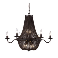 Trans Globe Signature 13 Light Chandelier in Rubbed Oil Bronze 70706-ROB