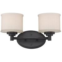 Trans Globe Lighting 70722-ROB Cahill 2 Light 15 inch Rubbed Oil Bronze Vanity Bar Wall Light