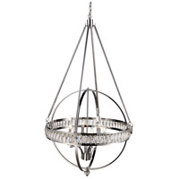 Elan 6 Light 31 inch Polished Chrome Pendant Ceiling Light