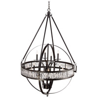 Elan 12 Light 42 inch Rubbed Oil Bronze Pendant Ceiling Light