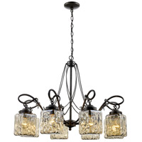 Moore 8 Light 31 inch Antique Bronze Chandelier Ceiling Light